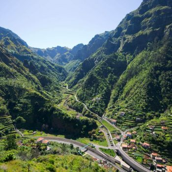 Serra de Agua slėnis.